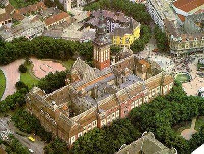 Subotica's city hall, Vojvodina, S&M